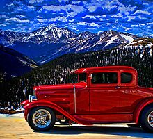 1931 Ford Model A Hot Rod by TeeMack