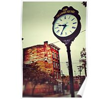Olde Sycamore Square - Downtown Cincinnati Poster