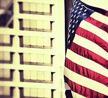 Patriotism - Downtown Cincinnati by Alex Baker