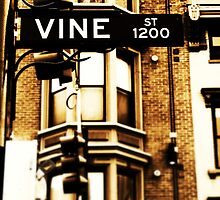 Vine Street - Downtown Cincinnati by Alex Baker