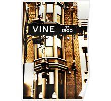 Vine Street - Downtown Cincinnati Poster