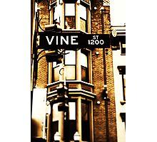 Vine Street - Downtown Cincinnati Photographic Print