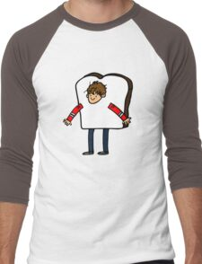 Bread Man Men's Baseball ¾ T-Shirt