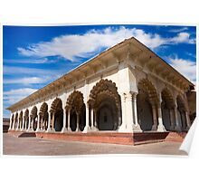Diwan-i-Am at Agra Fort Poster