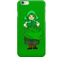 Irish Patty All Dressed Up for St Pat's Day iPhone Case iPhone Case/Skin