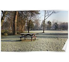 Frosty Morning. Poster