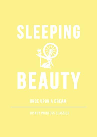Disney Princesses: Sleeping Beauty Minimalist by ofalexandra