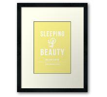 Disney Princesses: Sleeping Beauty Minimalist Framed Print