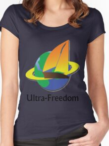 Ultra Freedom Women's Fitted Scoop T-Shirt