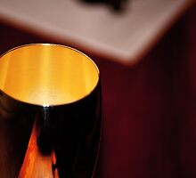 Cup of gold by Mark Williams
