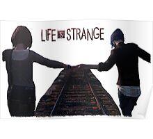 Life Is Strange Train Tracks Poster