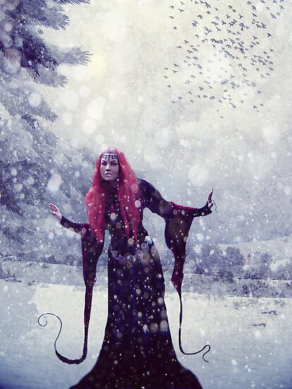 Wintery Queen by ©Maria Medeiros