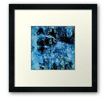 Blue Wall Framed Print