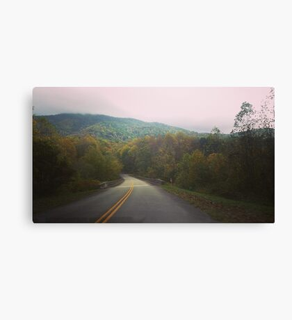 The Road More Traveled By Canvas Print