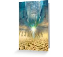 Time Lens Greeting Card