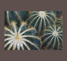 Sharp Beauty - Elegantly Ordered Cactus Needles Kids Clothes