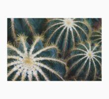 Sharp Beauty - Elegantly Ordered Cactus Needles Kids Tee