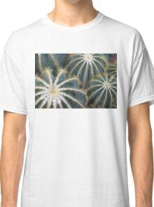 Sharp Beauty - Elegantly Ordered Cactus Needles Classic T-Shirt