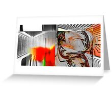 Abstract_010312_04 Greeting Card