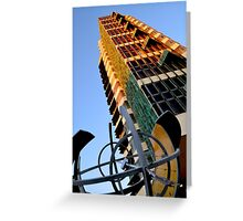 Price Tower & Compass Greeting Card