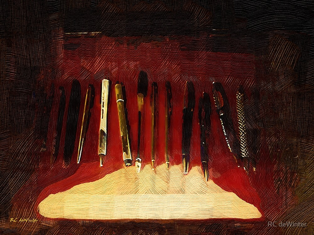 Pens in a Box by RC deWinter