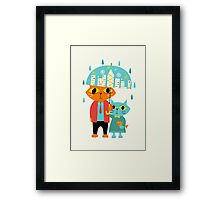 Rainy Day Framed Print