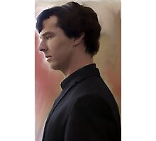 BBC Sherlock Painting Photographic Print