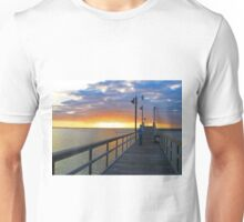 Watching the Sunset on the Texas Gulf Unisex T-Shirt