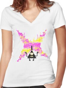 Weirdmageddon Women's Fitted V-Neck T-Shirt
