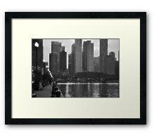 City of Big Shoulders Framed Print