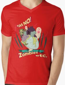Zombies etc. Mens V-Neck T-Shirt