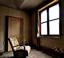 Window seat in Hell by Jean-Claude Dahn