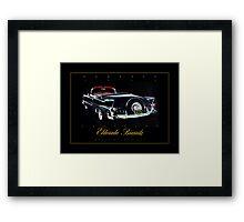 1955 Cadillac Eldorado Biarritz ver 2 Framed Print