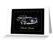 1955 Cadillac Eldorado Biarritz ver 2 Greeting Card