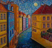 Prague a la VanGogh by Jo-Anne Gazo-McKim