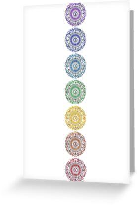 seven chakras by offpeaktraveler
