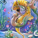 WaterBabies and Golden Sea Horse by Robin Pushe'e