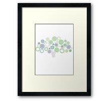 green tree Framed Print