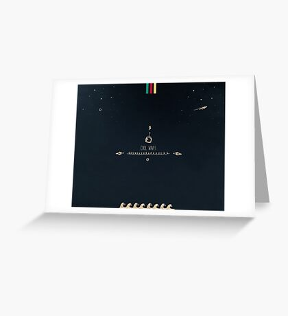 Cool waves - Spiritualized Greeting Card