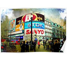 London VII - Piccadilly Circus Poster
