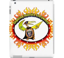 Super Eggbert - Slighting Injustice Everywhere II iPad Case/Skin