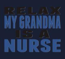 My Grandma Is A Nurse Baby Tee