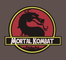 Jurassic Kombat One Piece - Short Sleeve