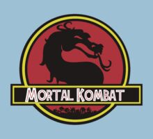 Jurassic Kombat Kids Clothes