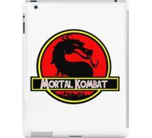 Jurassic Kombat iPad Case/Skin