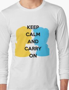 Carry On, Simon and Baz Long Sleeve T-Shirt