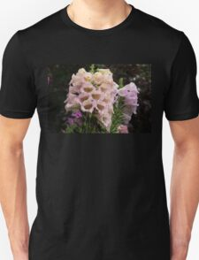 Exquisite, Elegant English Foxgloves Unisex T-Shirt