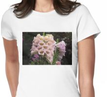 Exquisite, Elegant English Foxgloves Womens Fitted T-Shirt