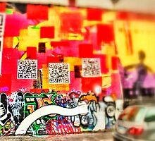 Graffiti 1 - Downtown Cincinnati by Alex Baker