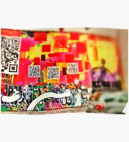Graffiti 1 - Downtown Cincinnati Poster